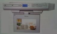 """Venturer KLV39073E 7"""" Undercabinet Kitchen LCD TV/DVD Combo"""