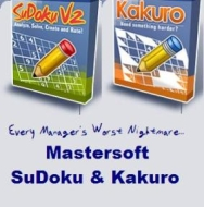Your Top Two Reasons To Avoid Work: Mastersoft SuDoku & Kakuro Reviewed!