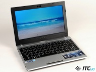 Asus Eee PC 1225C-MU10-BK 11.6 Netbook - Intel Atom N2600 1.60 GHz - Black - 2 GB RAM - 320 GB HDD - Webcam