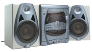 JBL Soundgear 2020 - Mini system - radio / 3xCD / dual cassette - gray
