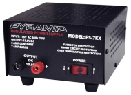 Pyramid PS-7KX Regulated 12V 5Amp Power Supply