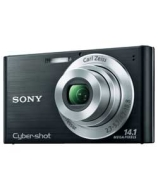 Sony W Series DSCW320B 14MP Compact Digital Camera - Black.