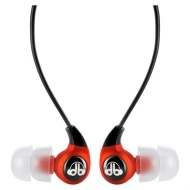 dBlogic EP-100 In-Ear Stereo Earphones (Red)
