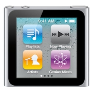 Apple 8GB 6th Generation iPod nano - Silver