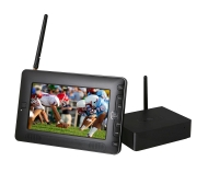 "Home Roam Portable 7"" LCD TV with Wireless Video Signal"
