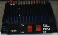 RM Italy KL 203 HF Linear Amplifier