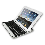 Sharon iPad 4 Retina iPad 3 and iPad 2 Aluminium Case / Cover / Stand with Integrated Bluetooth Keyboard (English Layout)