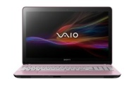 Sony VAIO Fit SVF15217CXP 15.5 Intel Core i5 Dual Core Processor Touchscreen Notebook Computer with Windows 8 - Pink