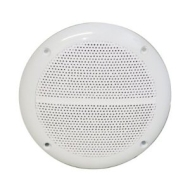 White High Quality 4 Ohms 40W Moisture Resistant Speakers For Use In Shower Rooms, Bathrooms etc. Sold In Pairs