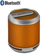 Divoom Bluetune Solo Wireless Bluetooth Speaker with Telephone function - orange for iPhone/iPad/Laptops/Smartphones/Bluetooth devices