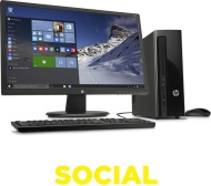 HP Slimline 411-a000na Desktop PC