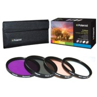 Polaroid 72mm 3 Piece Filter Kit (UV, CPL, FLD)