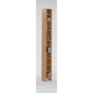tall and vertical beech colour wood adjustable shelf book cd dvd media storage tower unit by dmf.  sc 1 st  lustration.me & Media Storage Tower. Home Maine Tall Dvd And Cd Media Storage ...