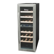 Vinotemp 21 Bottle Dual Zone Wine Cooler
