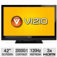 "Vizio E3D420VX 42"" Class 3D-LCD HDTV 1080p 120Hz,Refurbished"