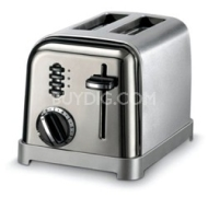 Cuisinart 2-Slice Metal Classic Toaster (Black Chrome)