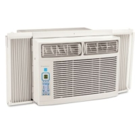 Frigidaire FRA106CV1 10,000 BTU 115-Volt Window-Mounted Compact Air Conditioner with Temperature Sensing Remote Control [White]