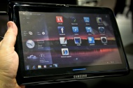 Tablet / Netbook Samsung Sliding PC 7