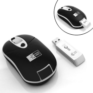 Compact Precision Optical Wireless Mouse for Netbooks, Notebooks and Desktop Computers