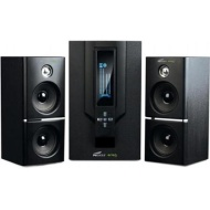 Eagle Tech Arion Legacy AR504LR-BK 2.1 Speaker System with Subwoofer & Remote for MP3, PC, Game Console & HDTV - Black, 70 Watts [Large, PC Speakers]