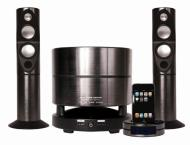 ixos divo 2.1 premium speaker system for ipods flat screen tvs and portable music players