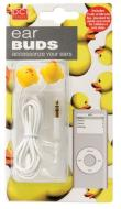 Ear Buds - Duck For your  IPOD, MP3 players, PDA, Portable gaming systems and laptop computers