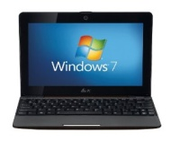 "10.1"" Asus 1008P-BRN013S Atom N450 1.66GHz 1GB 250GB HDD + 500GB Eee Storage Webcam Win7 Starter"