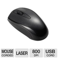 Inland Pro USB 800Dpi Mini IR Laser Notebook 3D Mouse