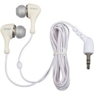 JAXX In-Ear Headphones with Case - White