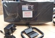 Sony CMTVII CD Flat Micro System - Black