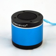 TECEVO T1 Blue Wireless Bluetooth Portable Speaker System for iPhone 3, 4, 4s, 5 / Samsung LG Sony Nokia Mobile Phones / Android Smart Phones / iPad 1