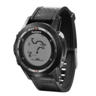 Garmin Fenix GPS Watch Fitness Tracker for Smartphone Black Certified Refurbished