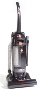 Hoover® HUSH Twin ChamberTM Bagless Vac with HEPA Filtration VACUUM,UPRIGHT,BK 00041 (Pack of2)