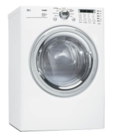 LG DLE7177 - Dryer - freestanding - front loading - 207.6 litres