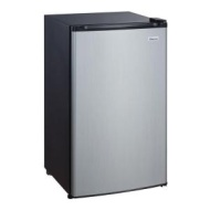 Magic Chef 3.5 cu. ft. Mini Refrigerator in Stainless Look ENERGY STAR HMBR350SE