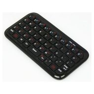 Keyboard (Wireless - Bluetooth - Black - 49 Key - PC, Mac, Tablet, Cellular Phone)
