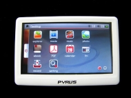 Pyrus Electronics 4GB MP4/MP5 Player with 4.3 Inch High Resolution Touch Screen