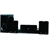 RCA 250-Watt 5.1-Channel Home Theater System with 1080p Upconverting DVD Player