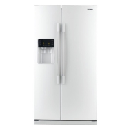 Samsung 24.8 Cu. Ft. Side-by-Side Refrigerator with Thru-the-Door Ice and Water - Black