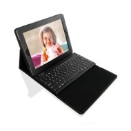 Sharon High-quality iPad 3 / New iPad Protective Case / Cover / Bag with Extra Slim Keyboard | Keyboard Detachable | English Layout (QWERTY) | New Rev