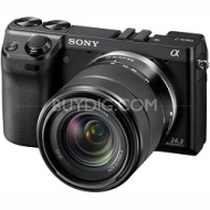 Sony NEX7K/B - NEX-7 24.3 MP Camera with 18-55mm lens (Black)