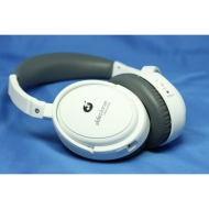 Able Planet NC300W True Fidelity Around-the-Ear Active Noise Canceling Headphones (White)