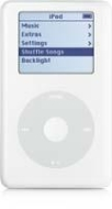 Apple IPOD 20GB - CLICK WHEEL
