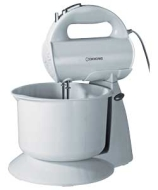 Cookworks Hand Mixer with Bowl