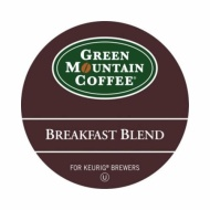 Green Mountain Breakfast Blend Light Roast K-Cups for Keurig (box of 18)