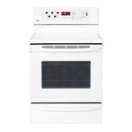 LG LRE30757SW - Range - freestanding - with self-cleaning - smooth white