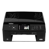 Brother - Network-Ready Wireless Color All-In-One Printer MFC-J435W