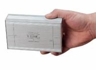 Convertisseur DAC Musical Fidelity VLINK 192 Coaxiale Argent