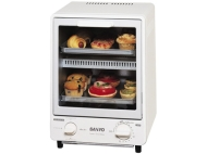 Sanyo Space Saving Two Level Toaster