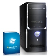 Powerful gaming PC! CSL Speed 4718uPro (Core i7) incl. Windows 7 Professional - computer system with Intel Core i7-4790 4x 3600 MHz, 1000GB SATA, 16GB